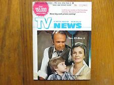 Nov-1971 Chicago Daily News TV News(JOANNE WOODWARD/ALL THE WAY HOME/JACK WARDEN