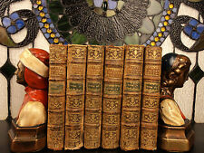1771 History & Reign of Charles V Holy Roman Emperor SPAIN 6v SET Spanish
