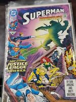 Superman  # 74 (1992) Early Doomsday + Justice League America