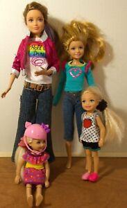 Mattel Barbie's Sisters Doll Lot