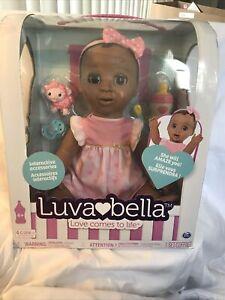 Luvabella Dark Hair Interactive Baby Doll