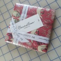 """5"""" x 5"""" Charm Pack Woodland Animals 100% Cotton squares By Boundless Fabrics"""