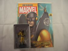 Eaglemoss Marvel Figurine Collection Yellowjacket and the Wasp with magazine 58