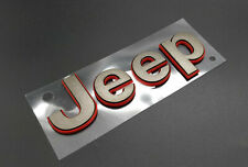 09-17 Jeep Wrangler 75Th Bronze Jeep Emblem Nameplate Badge New Mopar Genuine (Fits: Jeep)