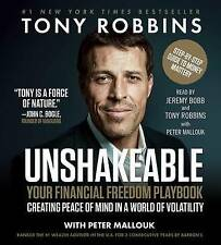 Unshakeable: How to Thrive (Not Just Survive) in the Coming Financial Correction by Tony Robbins (CD-Audio, 2017)