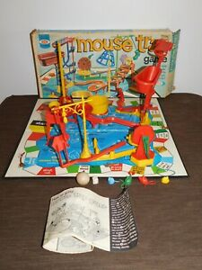 VINTAGE TOY 1963 IDEAL MOUSE TRAP GAME COMPLETE IN BOX