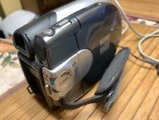Samsung Sc-Dc164 Ntsc Dvd+Rw+R Dvd Camcorder Work Tested.No Battery
