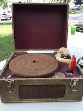 Vintage Waters Conley Company Phonola Portable Record Player