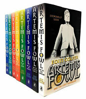 NEW Artemis Fowl 8 Books Collection Library Bestselling Gift Set by Eoin Colfer!