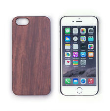 Genuine Rosewood Handcrafted Real Wood Case Black Matte for iPhone 6 / 6s 4.7""