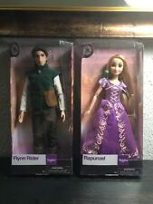 LOT Authentic Disney Rapunzel & Flynn Rider Classic Tangled Doll Sets 12'' NIB