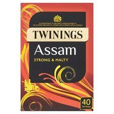 Twinings Assam Tea Bags - 40's - Pack of 2 (40's x 2) (4.41 oz  x  2)