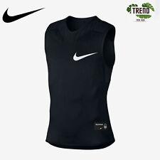 Nike Vapor Speed Black Integrated Padding Football Top Shirt 835345 Size L