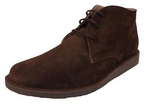 Ikon Original NOMAD Brown Real Suede Retro Mod Desert Boots