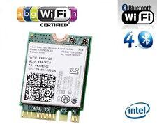 + Intel® Wireless-N 7260 Dual Band 802.11a/b/g/n WLAN+Bluetooth PCIe M.2 NGFF +