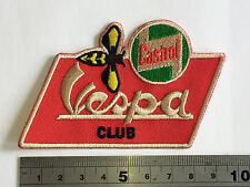 Vespa Club Castrol Wasp Patch - Embroidered - Iron or Sew On
