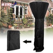 220CM Outdoor Black Patio Gas Heater Cover Protector Garden Polyester Waterproof