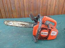 "Vintage STIHL 015L Chainsaw Chain Saw with 13"" Bar"