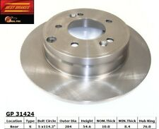 Disc Brake Rotor-Fuel Cell Rear Best Brake GP31424