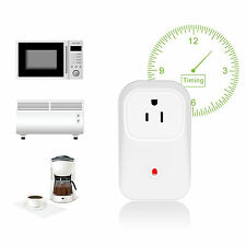 Wifi Wireless Remote Control Timer Smart Power Wall Plug Socket For Phone w/ APP