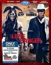 The Lone Ranger (Blu-ray/DVD, 2013) Disney~no digital