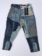 JEANS   SAROUEL DESIGUAL   DENIM  POINT    Taille 34