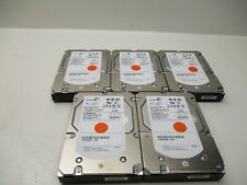 "Lot of 5 Seagate  ST3600057SS 600GB Cheetah 15K.7  SAS 3.5"" HDD"