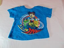 Toddler Boy Blue Mickey  Mouse shirt Size 2T