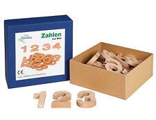 Legespiel ZAHLEN aus Holz Holzzahlen Holzspielzeug von Egermann