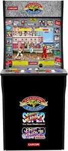Borne jeu d'Arcade Street Fighter II 2 joysticks et boutons contrôle style Retro