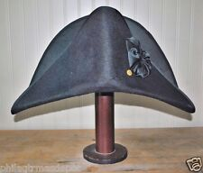 Navy Bicorn Hat 1797 - Horatio Hornblower Style - (S, M, L, XL, XXL)