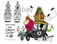 Hanna Barbera STYLE GUIDE PLATE - WACKY RACES - The CREEPY COUPE