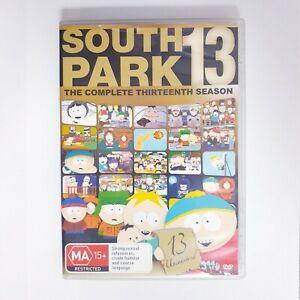 South Park Season 13 TV Series DVD Region 4 AUS Free Postage - Comedy Animation