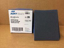 """Set of 20 Norton Soft Touch Sanding Sponges  4-1/2"""" x 5-1/2"""" x 3/16"""" ULTRA FINE"""