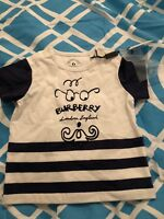 Burberry Baby T Shirt 6 Months New With Tags
