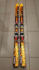 Salomon Scream Spaceframe HotSnow Skis 175cm with Salomon bindings.