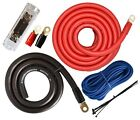 0 Gauge Amp Kit Amplifier Install Wiring Power Kit 0Ga Installation Cables 4000W