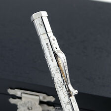 Yard-O-Led Victorian Diplomat Sterling Silver Ballpoint Pen