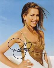 Jennifer Aniston In-Person AUTHENTIC Autographed Photo COA SHA #79974
