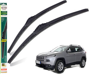 """Fits Jeep Cherokee 2013-On Replacement Wiper Blades Heyner Hybrid 26""""18"""" Front"""