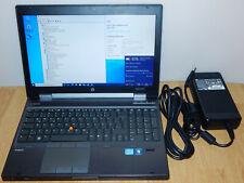 """15,6"""" Workstation Notebook HP Elitebook 8560w i7-2630QM 500GB SSD 8GB Win10 Pro"""