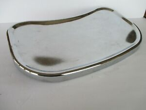 Vintage PETERSON High Chair Chrome REPLACEMENT Metal Tray Only Parts