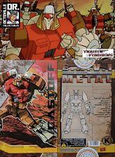 Transformers Masterpiece KFC Toys 6C Castoff / MP Junkion Warrior Brand new