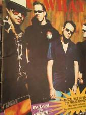 So What! Metallica Fan Club Magazine Volume 4 #4-Q&A/Europe Tour/Bob Rock/2 Page