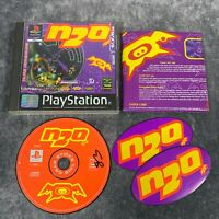 N2O PS1 PlayStation 1 PAL Game Complete Black Label Tunnel Shooter