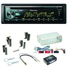 Pioneer DEH-X7800DAB Bluetooth DAB+ CD MP3 Einbauset für Audi A4 B5 A6 4B C4 A8