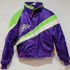 Vintage Arctic Cat Cat Snowmobile Jacket w/Liner, Size Adult Small