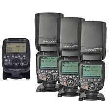 3pcs Yongnuo YN600EX-RT II TTL Flash Speedlite + YN-E3-RT Transmitter for Canon