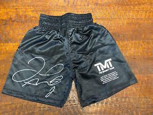 Floyd Mayweather Signed Shorts Boxing Trunks Beckett BAS Coa Autographed TMT