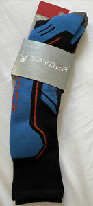 Spyder Mens Sport Merino Sock Medium Red